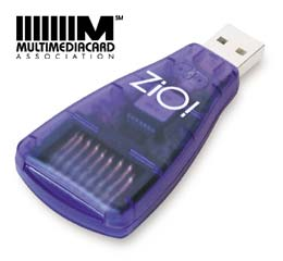 Dazzle* ZiO MultiMedia-/SecureDigital Card (903119)