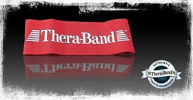 Thera-Band Loop Fitnessband 7.6x30.5cm 20cm rot (20821)