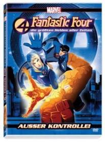 Fantastic Four - Die größten Helden aller Zeiten Vol. 1 (DVD)