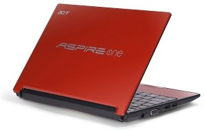 Acer Aspire One D255E, Atom N455, 250GB, Windows 7 Starter, red, UK (LU.SFR0D.035)