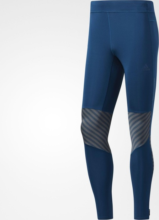 f74f7df096d5 adidas Supernova Graphic Tights running pants long blue night (men) (BR2403)