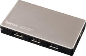 Hama USB hub, 4x USB-A, USB 3.0 micro-B [socket] (54544)