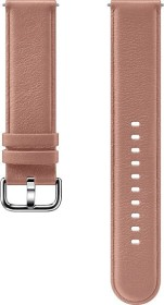 Samsung Leather Band 20mm für die Galaxy Watch Active 2 pink (ET-SLR82MPEGWW)
