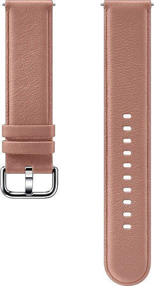 Samsung Leather Band 20mm für die Galaxy Watch Active 2 pink (ET-SLR82MPEGWW)