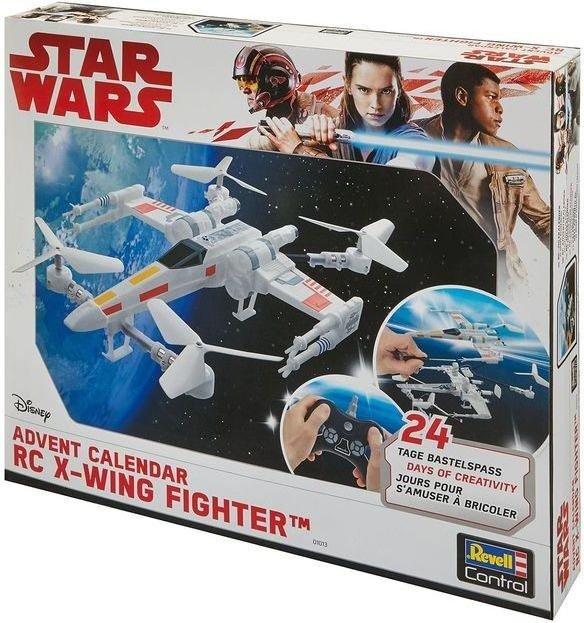 revell control rc star wars x wing fighter adventskalender. Black Bedroom Furniture Sets. Home Design Ideas