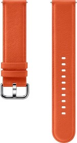 Samsung Leather Band 20mm für die Galaxy Watch Active 2 orange (ET-SLR82MOEGWW)