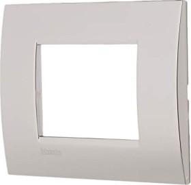 Bticino Livinglight Abdeckrahmen 1-fach, nickel (LNA4803NS)