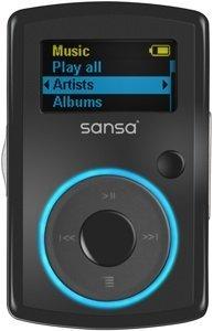 SanDisk Sansa Clip FM 2GB black (SDMX11R-2048K) -- © SanDisk