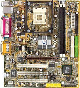 Gigabyte GA-8STML, SiS645DX (PC-2700 DDR)