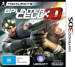 Splinter Cell 3D (German) (3DS)