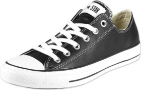 Converse Chuck Taylor All Star leather Low black (132174C)