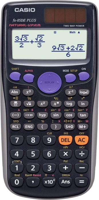 Casio FX-85DE Plus