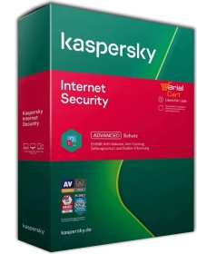 Kaspersky Lab Internet Security 2021, 1 User, 2 Jahre, ESD (deutsch) (Multi-Device)