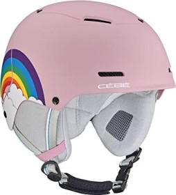 Cébé Bow Helm matt pink powder rainbow (Junior) (CBH800)