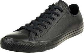 Converse Chuck Taylor All Star leather Low black mono (135253C)