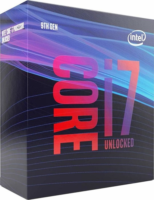 Intel Core i7-9700K, 8x 3.60GHz, boxed without cooler (BX80684I79700K)