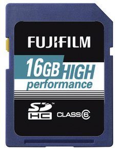 Fujifilm High Performance SDHC 16GB, Class 6 (4002540)