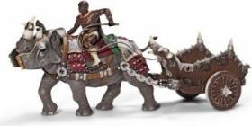 Schleich New Heroes - Gladiator With Battle Rhinoceros (70083)