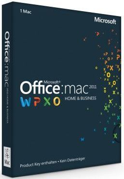 Microsoft: Office 2011 Home and Business, Multi pack (German) (MAC) (W9F-00017)