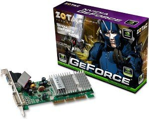 Zotac GeForceFX 5200, 128MB DDR, VGA, DVI, TV-out, low profile (ZT-52FA121-HSS)