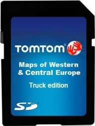 TomTom WORK Truck-Navigation West- and Central Europe SD card (9KB0.057.00)