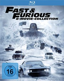 The Fast And The Furious Box (Filme 1-8) (Blu-ray)