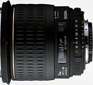 Sigma AF 24mm 1.8 EX DG Asp macro for Four Thirds black (432958)