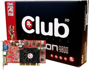Club 3D Radeon 9800SE, 128MB DDR, DVI, TV-out, AGP (CGA-S988TVD)