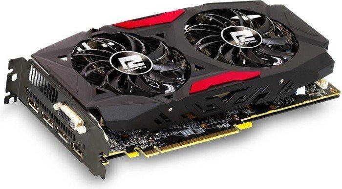 PowerColor Radeon RX 580 Red Dragon, 4GB GDDR5, DVI, HDMI, 3x DP (AXRX 580 4GBD5-3DHD/OC)