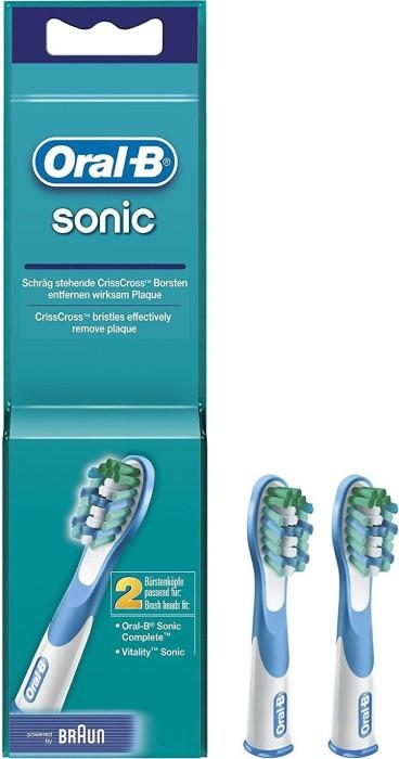 Braun Oral-B brush heads Sonic, 2-pack (746973)