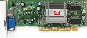 Sapphire Atlantis Radeon 9200SE, 64MB DDR, TV-out, AGP (11022-09-10/20)