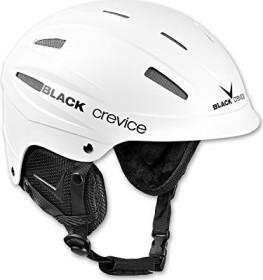 Black Crevice Ischgl Helmet white