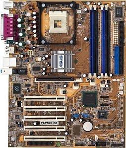 ASUS P4P800 SE (dual PC-3200 DDR)
