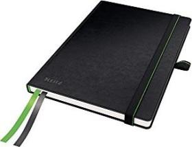 Leitz Complete Notizbuch schwarz A5 kariert, 80 Blatt (44770095)