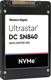 Western Digital Ultrastar DC SN840 - 1DWPD 3.84TB, TCG FIPS, U.2 (0TS2062/WUS4BA138DSP3X5)