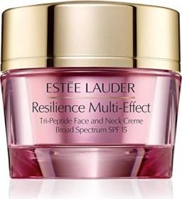 Estée Lauder Resilience Multi-Effect Tri-Peptide Face and Neck Creme für trockene Haut SPF15, 50ml