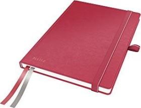 Leitz Complete Notizbuch rot A5 kariert, 80 Blatt (44770025)