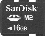 SanDisk Memory Stick [MS] Micro M2 16GB (SDMSM2-016G)