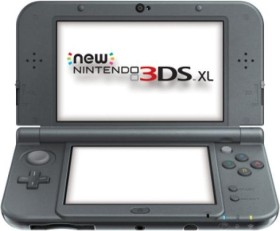 Nintendo New 3DS XL metallic schwarz