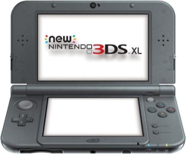 Nintendo New 3DS XL metallic schwarz