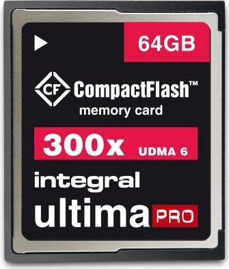 Integral ultima PRO CompactFlash Card [CF] 300x 64GB (INCF64G300W) -- via Amazon Partnerprogramm