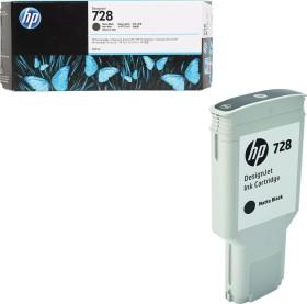 HP Tinte 728 schwarz matt hohe Kapazität (F9J68A)