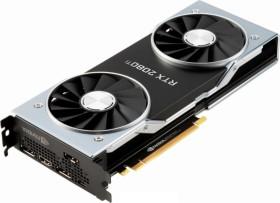 NVIDIA GeForce RTX 2080 Ti Founders Edition, 11GB GDDR6, HDMI, 3x DP, USB-C (900-1G150-2530-000)