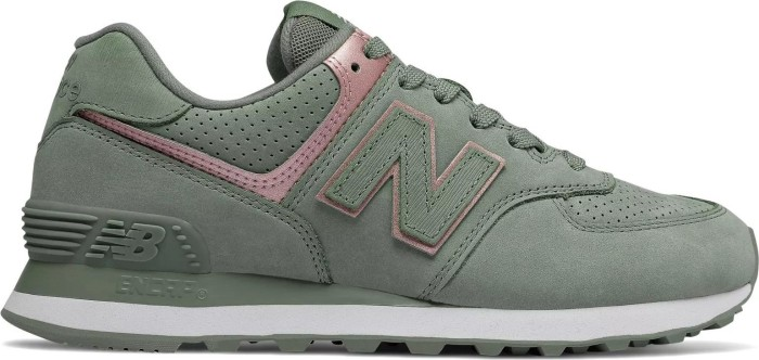 new balance 574 damen metallic