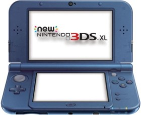 Nintendo New 3DS XL metallic blau