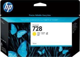 HP Tinte 728 gelb hohe Kapazität (F9J65A)