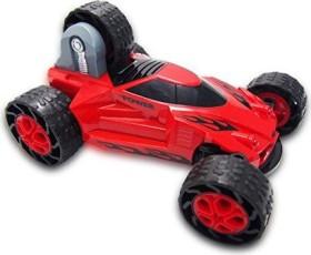"""Stunt Car Stunt Auto /""""5 wheels/"""" rot 1:18 4WD RTR Komplettset mit AKKU"""
