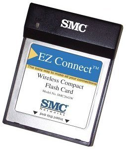 SMC EZ Connect 2642W, Wireless CompactFlash Card