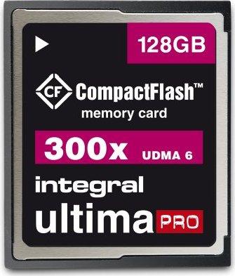 Integral ultima PRO CompactFlash Card [CF] 300x 128GB (INCF128G300W) -- via Amazon Partnerprogramm