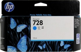 HP Tinte 728 cyan hohe Kapazität (F9J67A)